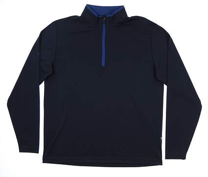 New Mens Ping Truman 1/4 Zip Pullover Large L Navy S03285 MSRP $79