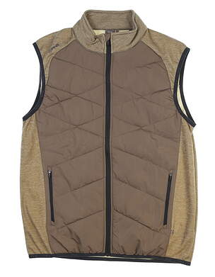 New Mens Ping Breaker Vest Large L Walnut S03379 MSRP $169