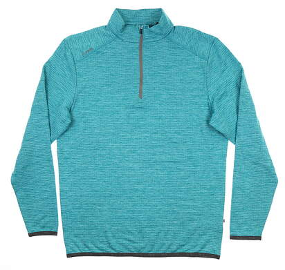New Mens Ping Elden 1/4 Zip Pullover Large L Lake Blue S03364 MSRP $89