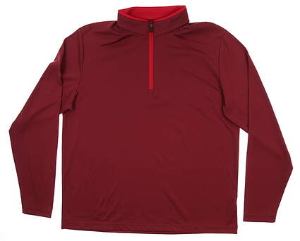 New Mens Ping Truman 1/4 Zip Pullover XX-Large XXL Redwood P03285 MSRP $79