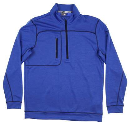 New Mens Puma Go Low 1/4 Zip Medium M Dazzling Blue 577899 07 MSRP $75