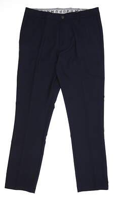 New Mens Puma Antrim Pants 32 x32 Peacoat 595363 01 MSRP $110