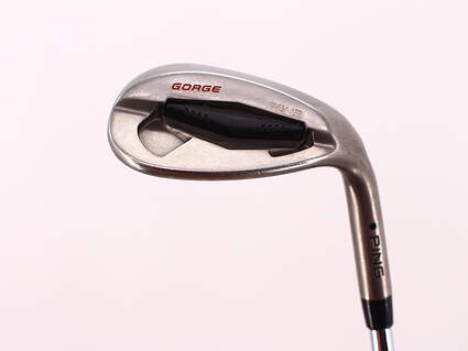 Ping Tour Gorge Wedge Lob LW 60° Thin Sole Dynamic Gold Tour Issue S400 Steel Stiff Right Handed 35.25in