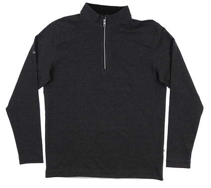 New Mens Ping Herman 1/4 Zip Pullover Large L Black S03361 MSRP $129