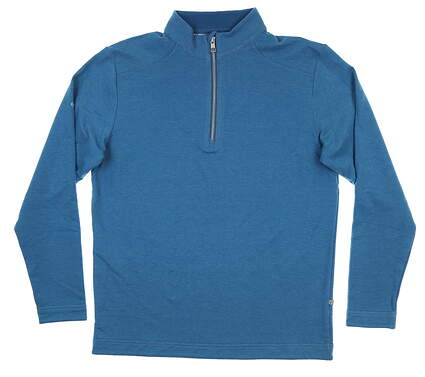 New Mens Ping Herman 1/4 Zip Pullover Large L Deep Water S03361 MSRP $129
