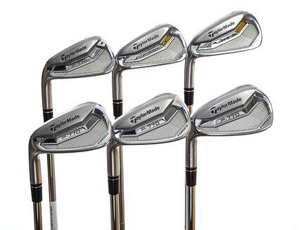 TaylorMade P770 Iron Set 5-PW FST KBS Tour FLT Steel Regular Left Handed 38.0in