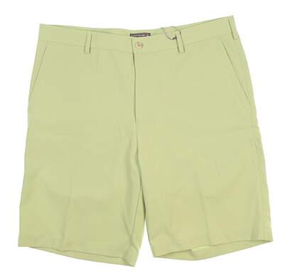New Mens Peter Millar Golf Shorts 35 Green MS17EB82 MSRP $85