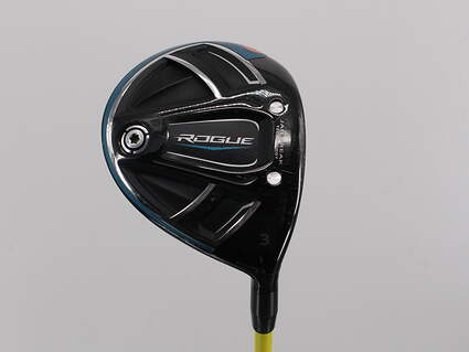 Callaway Rogue Fairway Wood 3 Wood 3W 15° Handcrafted HZRDUS Yellow 75 Graphite X-Stiff Right Handed 43.0in