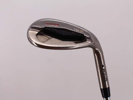 Ping Tour Gorge Wedge Lob LW 58° Ping CFS Steel Stiff Right Handed Black Dot 35.25in