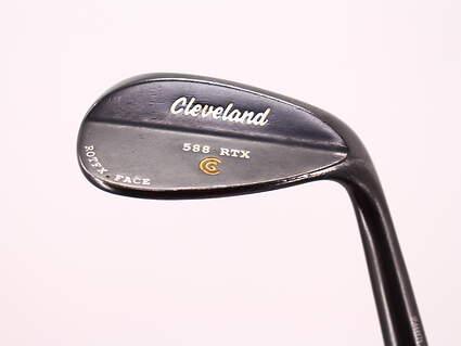 Cleveland 588 RTX Black Pearl Wedge Sand SW 56° 10 Deg Bounce True Temper Dynamic Gold Steel Wedge Flex Right Handed 35.5in