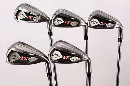 Callaway 2013 X Hot Iron Set 6-PW True Temper Speed Step 85 Steel Regular Right Handed 37.75in