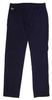 New Mens Lacoste Pants 42 x33 (US Size 33X33) Navy Blue HH1624 MSRP $145