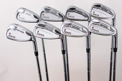 Wishon Golf Sterling Single Length Iron Set 5-PW GW SW Apollo Acculite 95 Steel Regular Right Handed 36.5in
