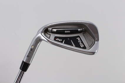 Ping I20 Single Iron 6 Iron   True Temper Dynamic Gold S300 Steel Stiff Left Handed White Dot 39.0in