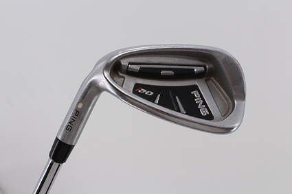 Ping I20 Single Iron 9 Iron   True Temper Dynamic Gold S300 Steel Stiff Left Handed White Dot 37.5in
