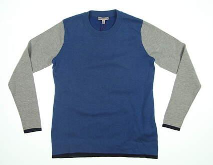 New Womens Peter Millar Julia Crewneck Sweater X-Small XS Multi LS17ES02 MSRP $180
