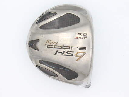 Cobra HS9 X Driver 9° Right Handed *HEAD ONLY*