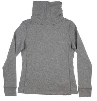 New Womens Puma Cozy Pullover Medium M Gray 576146 02 MSRP $70
