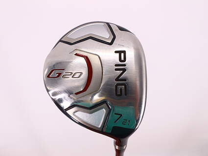 Ping G20 Fairway Wood 7 Wood 7W 21° Ping TFC 169F Graphite Senior Right Handed 41.75in