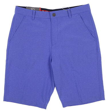 New Mens Puma Marshal Golf Shorts 32 Blue 577908 MSRP $80