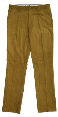 New Mens Puma Corduroy Golf Pants 32x32 Plantation 595128 MSRP $85