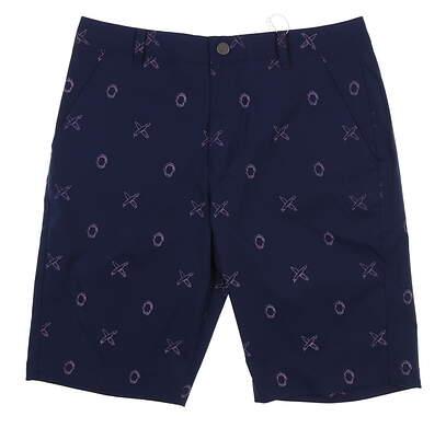 New Mens Puma Jaws Golf Shorts 32 Peacoat 579307 MSRP $80