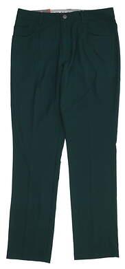 New Mens Puma Jackpot 5 Pocket Golf Pants 32x32 Ponderosa Pine 577975 MSRP $85