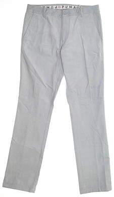 New Mens Puma Corduroy Golf Pants 32x32 Quarry 595128 MSRP $85