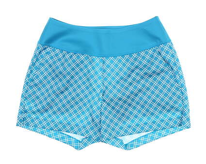 New Womens Puma PWRSHAPE Shorty Shorts Small S Caribbean Sea 577945 MSRP $65