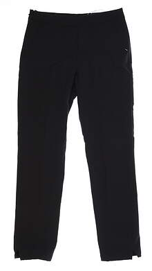 New Womens Puma 7/8 Golf Pants Small S Black 595166 MSRP $75