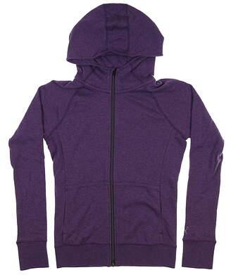 New Womens Puma Brisk Golf Hoodie Small S Indigo 577938 MSRP $75