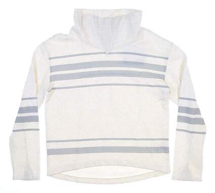 New Womens Puma Slouchy Golf Fleece Small S Light Grey 595162 MSRP $75