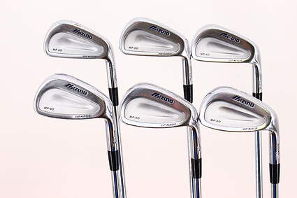 Mizuno MP 60 Iron Set 5-PW True Temper Dynamic Gold Steel Regular Right Handed 38.0in