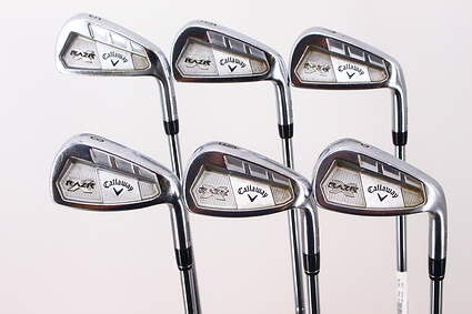 Callaway Razr X Forged Iron Set 5-PW FST KBS Tour 110 Steel Regular Right Handed 37.75in
