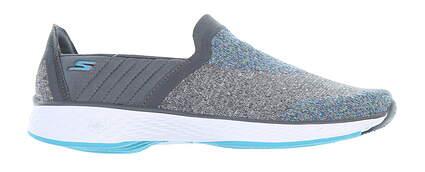 New Womens Golf Shoe Skechers GOwalk Sport 6 Gray/ Blue 14140/GYBL MSRP $85