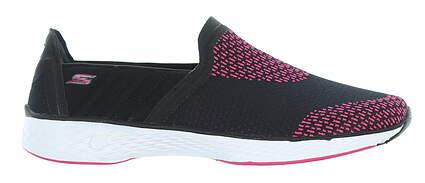New Womens Golf Shoe Skechers GOwalk Sport 6 Black 14140/BKHP MSRP $85