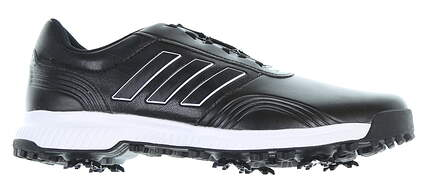 New Mens Golf Shoe Adidas CP Traxion BOA Size 10.5 Wide Black BD7140 MSRP $110