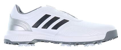 New Mens Golf Shoe Adidas CP Traxion BOA Size 9.5 Wide White BB7906 MSRP $110