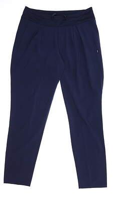 New Womens Puma Jogger Pants Small S Peacoat 595165 02 MSRP $75