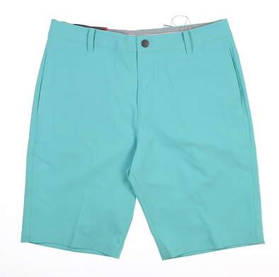 New Mens Puma Jackpot Golf Shorts 32 Blue Turquoise 578182 MSRP $65