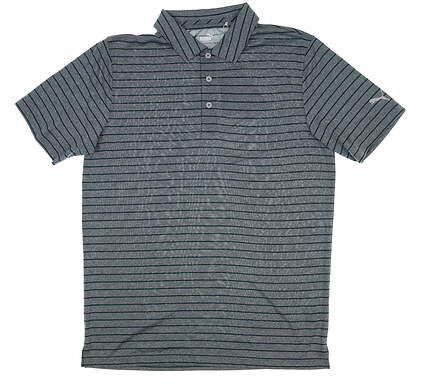 New Mens Puma Rotation Stripe Golf Polo Medium M Ponderosa Pine 577974 MSRP $70
