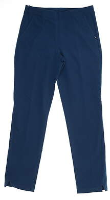 New Womens Puma 7/8 Golf Pants Small S Gibraltar Sea 595166 MSRP $75