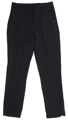 New Womens Puma 7/8 Golf Pants Small S Black 595166 MSRP $75