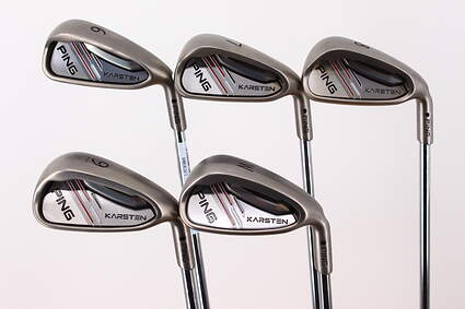 Ping 2014 Karsten Iron Set 6-PW Ping CFS Distance Steel Regular Right Handed Black Dot 37.75in