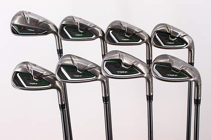 TaylorMade RocketBallz Iron Set 5-PW GW LW TM RBZ 65 Graphite Regular Right Handed 39.0in