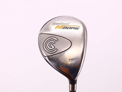 Cleveland Hibore Fairway Wood 3 Wood 3W 15° Cleveland Fujikura Fit-On Gold Graphite Senior Right Handed 43.25in