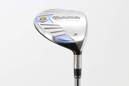 TaylorMade 2007 Burner Steel Fairway Wood 7 Wood 7W 21° TM Reax Superfast 50 Graphite Ladies Right Handed 41.5in