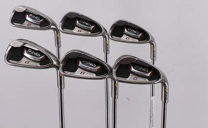 Ping G20 Iron Set 5-PW Ping CFS Steel Regular Right Handed Yellow Dot 37.75in