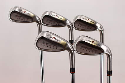 TaylorMade Supersteel Iron Set 6-PW TM Royal Precision Rifle Steel Steel Regular Right Handed 37.5in