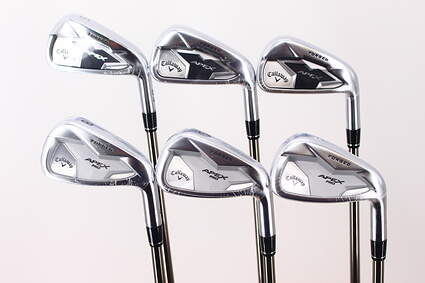 Mint Callaway Apex 19 Forged/Pro 19 Combo Iron Set 5-PW UST Recoil 760 ES SMACWRAP Graphite Regular Right Handed 38.0in